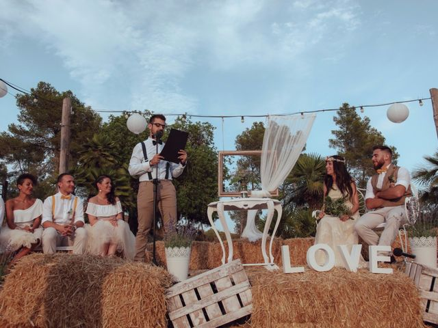 La boda de Javi y Jessica en Olivella, Barcelona 25
