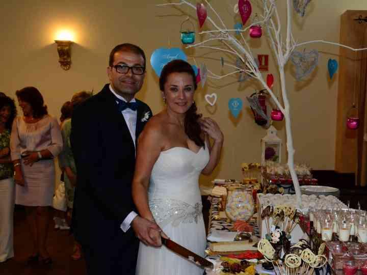 La boda de Ángel y Virginia