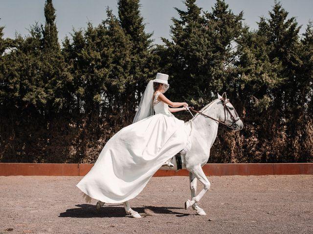 La boda de Jesús y Amparo en Ballesteros De Calatrava, Ciudad Real 22