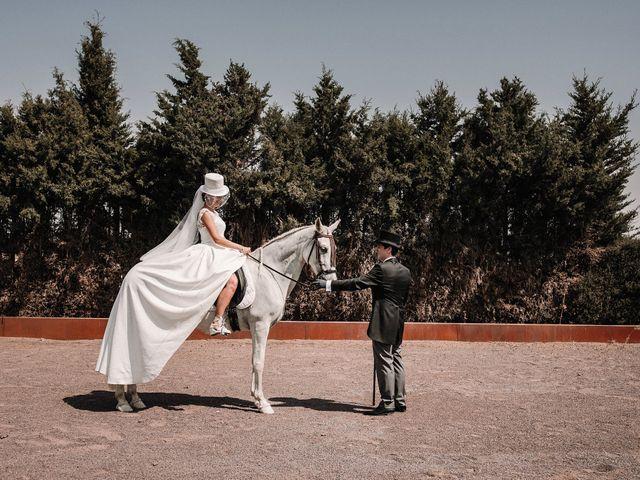 La boda de Jesús y Amparo en Ballesteros De Calatrava, Ciudad Real 25