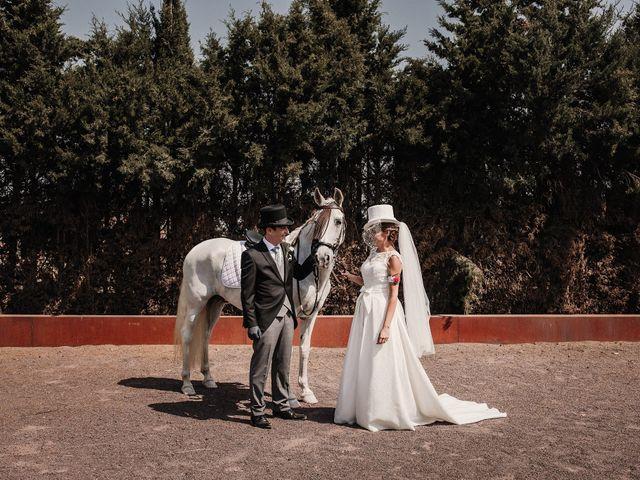 La boda de Jesús y Amparo en Ballesteros De Calatrava, Ciudad Real 1