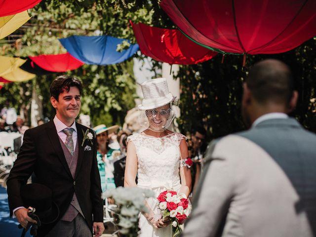 La boda de Jesús y Amparo en Ballesteros De Calatrava, Ciudad Real 35