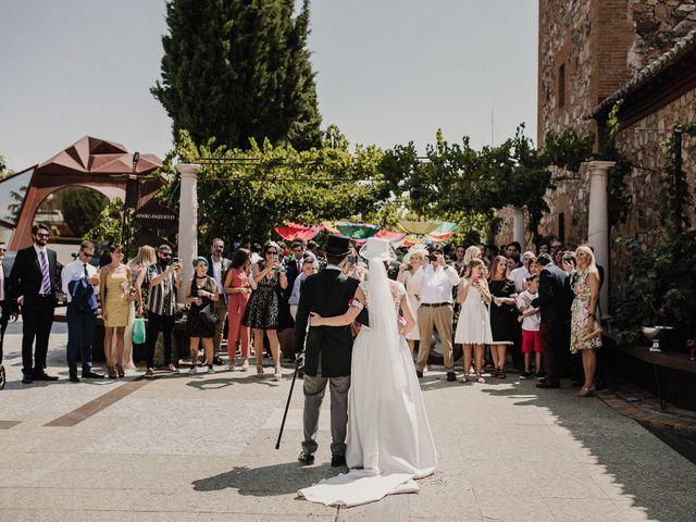 La boda de Jesús y Amparo en Ballesteros De Calatrava, Ciudad Real 49