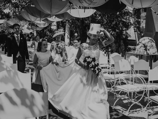 La boda de Jesús y Amparo en Ballesteros De Calatrava, Ciudad Real 50