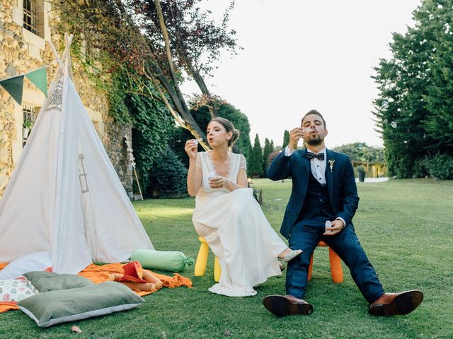 La boda de David y Ana en Girona, Girona 40