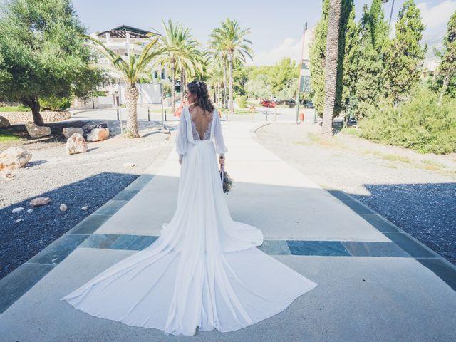 La boda de Juan  y Mari Carmen en Altea, Alicante 3