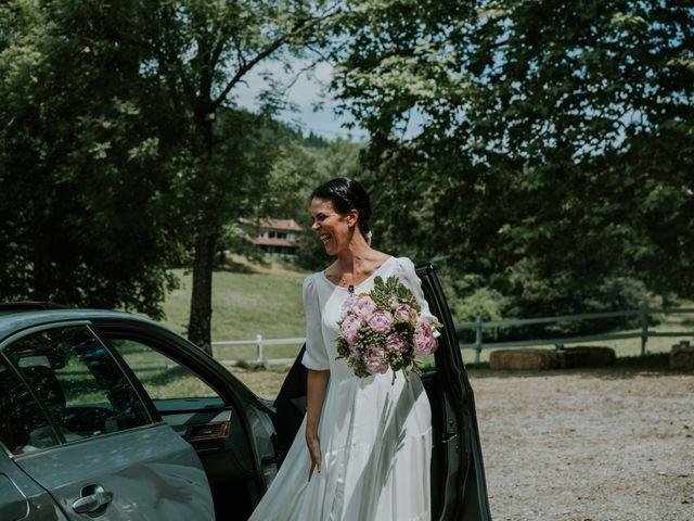 La boda de Harold y Amaya en Markina-xemein, Vizcaya 26