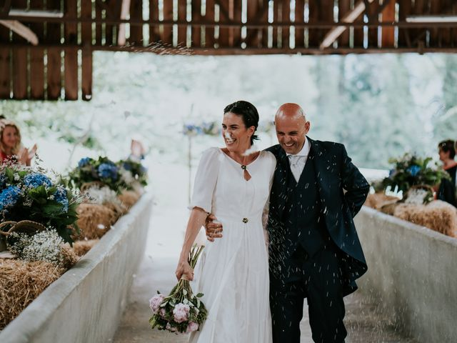 La boda de Harold y Amaya en Markina-xemein, Vizcaya 43