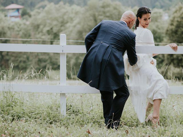 La boda de Harold y Amaya en Markina-xemein, Vizcaya 55