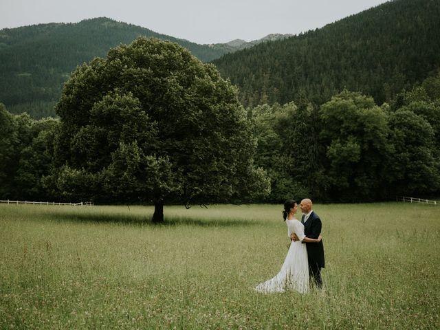 La boda de Harold y Amaya en Markina-xemein, Vizcaya 1