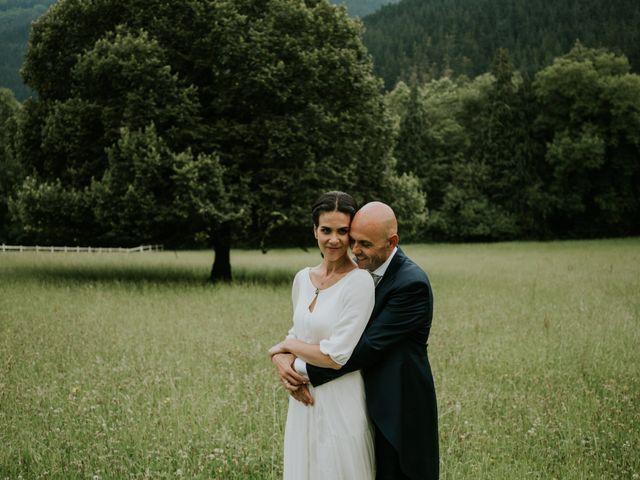 La boda de Harold y Amaya en Markina-xemein, Vizcaya 58