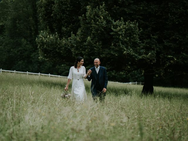La boda de Harold y Amaya en Markina-xemein, Vizcaya 61