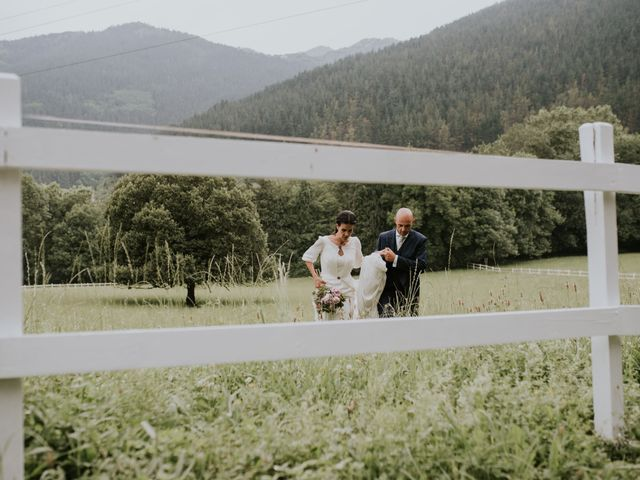 La boda de Harold y Amaya en Markina-xemein, Vizcaya 63