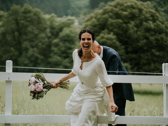 La boda de Harold y Amaya en Markina-xemein, Vizcaya 64