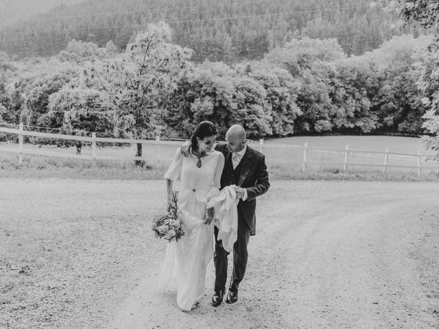 La boda de Harold y Amaya en Markina-xemein, Vizcaya 66