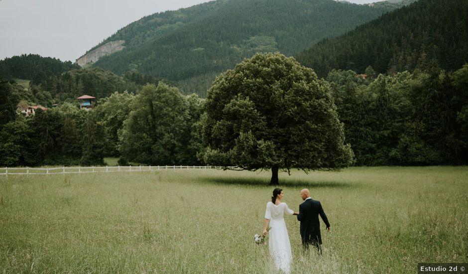 La boda de Harold y Amaya en Markina-xemein, Vizcaya