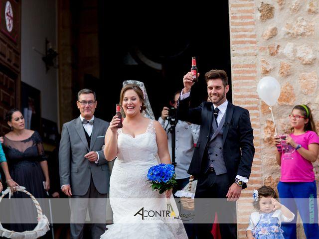 La boda de Conrado y Isabel en Carrion De Calatrava, Ciudad Real 25