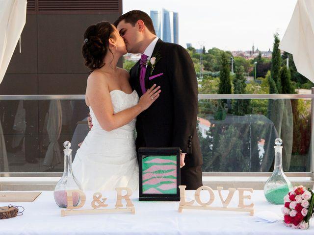 La boda de Diego y Rosa María en Madrid, Madrid 1