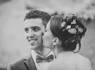 La boda de Èlia y David