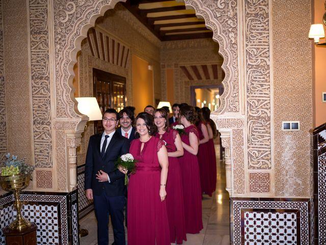 La boda de Luis y Triana en Granada, Granada 25