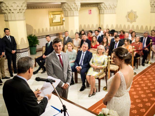 La boda de Luis y Triana en Granada, Granada 35