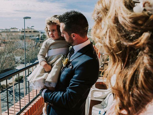 La boda de Cristian y Paloma en Elda, Alicante 3