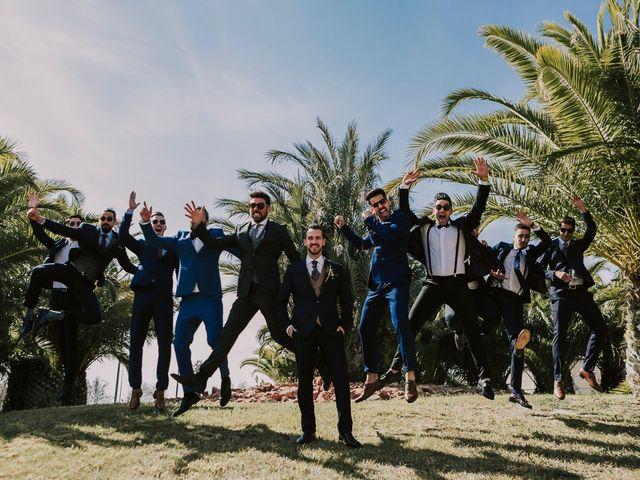 La boda de Cristian y Paloma en Elda, Alicante 7