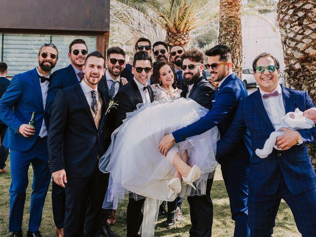 La boda de Cristian y Paloma en Elda, Alicante 33