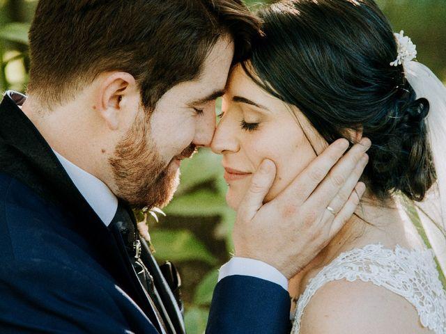 La boda de Alba  y Brandán
