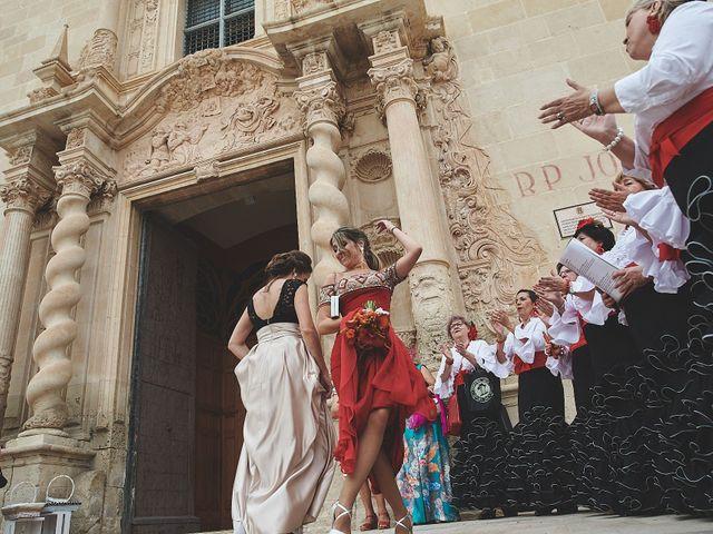La boda de Andrés y Mamen en Alacant/alicante, Alicante 38