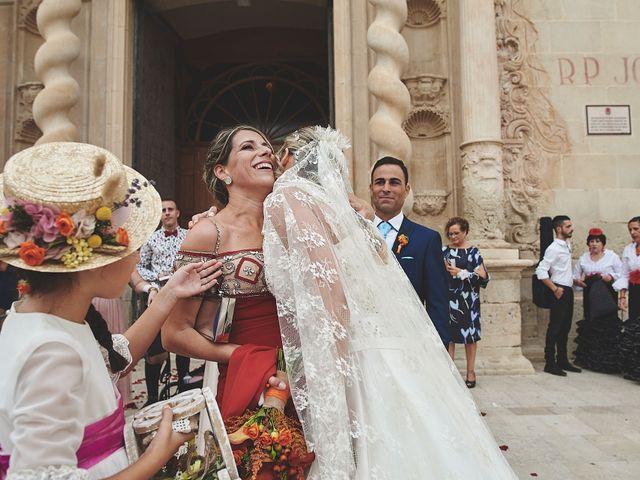 La boda de Andrés y Mamen en Alacant/alicante, Alicante 39