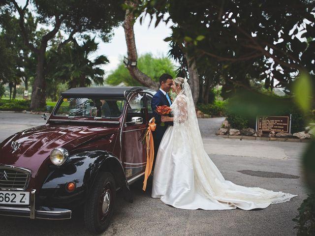 La boda de Andrés y Mamen en Alacant/alicante, Alicante 41