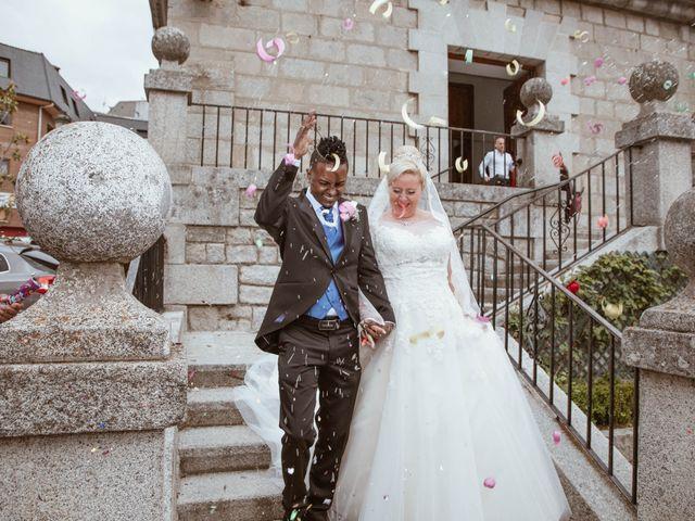 La boda de Zafiro y María en San Roman De Bembibre, León 31