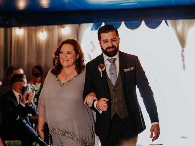 La boda de Alberto y Cristina en San Agustin De Guadalix, Madrid 29