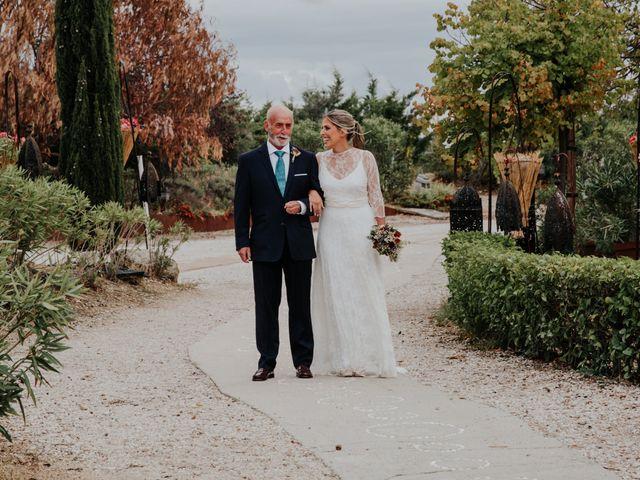La boda de Alberto y Cristina en San Agustin De Guadalix, Madrid 31