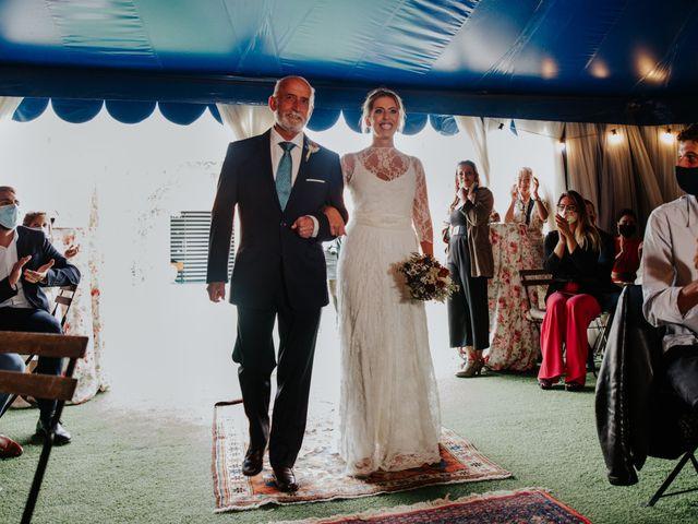 La boda de Alberto y Cristina en San Agustin De Guadalix, Madrid 33