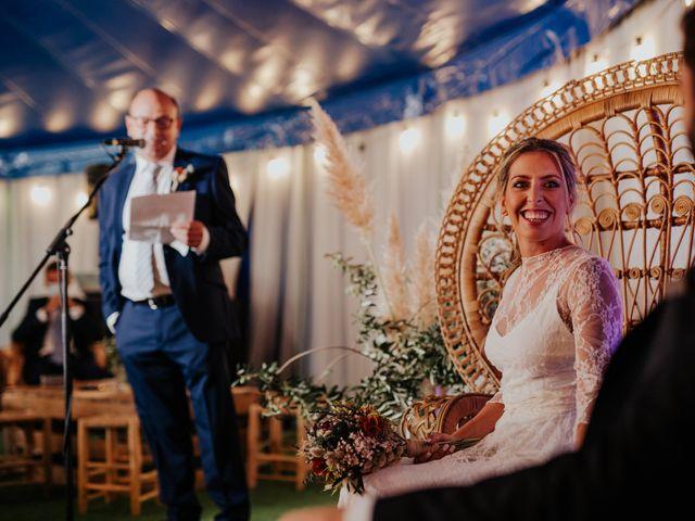 La boda de Alberto y Cristina en San Agustin De Guadalix, Madrid 37