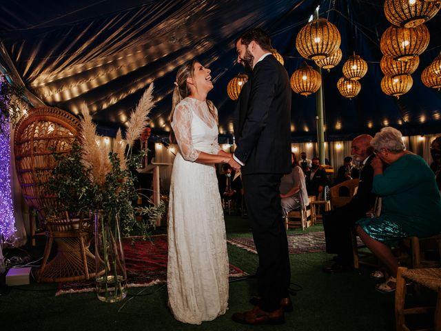La boda de Alberto y Cristina en San Agustin De Guadalix, Madrid 42