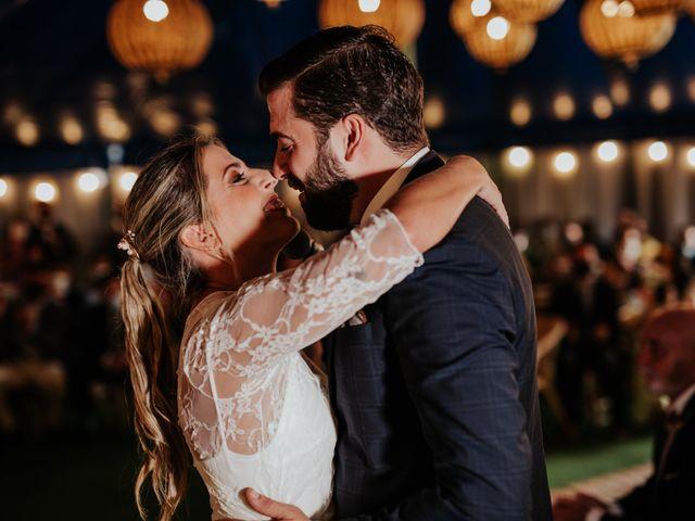 La boda de Alberto y Cristina en San Agustin De Guadalix, Madrid 44