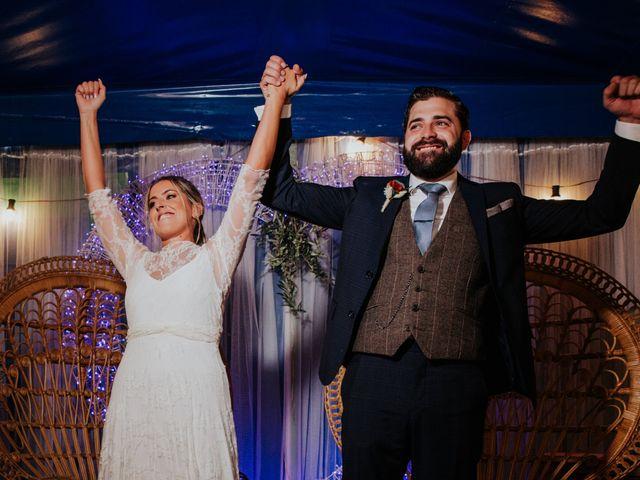 La boda de Alberto y Cristina en San Agustin De Guadalix, Madrid 49