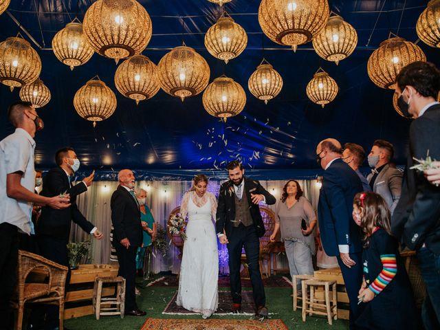 La boda de Alberto y Cristina en San Agustin De Guadalix, Madrid 50
