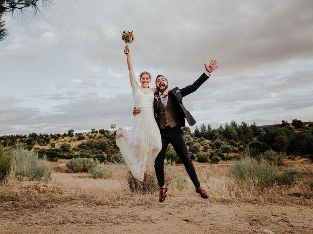 La boda de Alberto y Cristina en San Agustin De Guadalix, Madrid 77