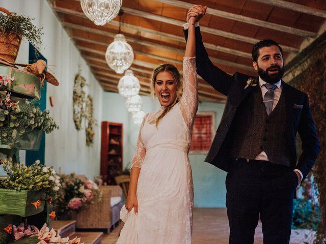 La boda de Alberto y Cristina en San Agustin De Guadalix, Madrid 84