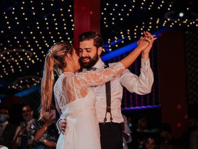 La boda de Alberto y Cristina en San Agustin De Guadalix, Madrid 94