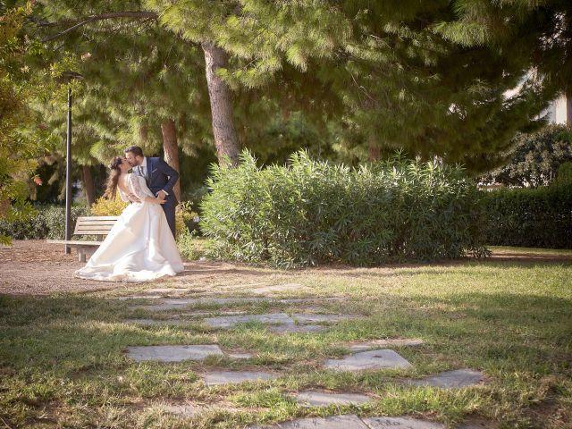 La boda de augusto y rosa en Turis, Valencia 34