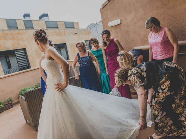 La boda de David y Èlia en La Pobla De Claramunt, Barcelona 28