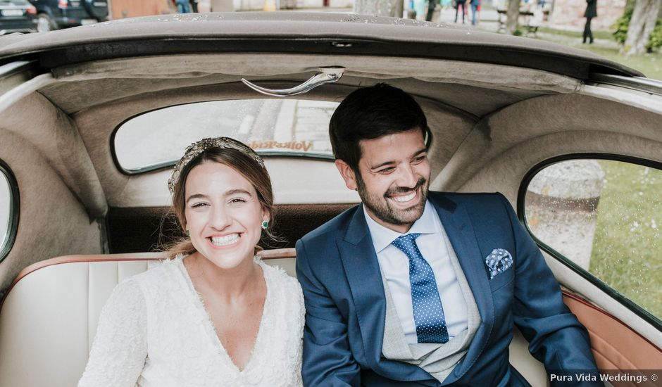 La boda de Juan y Bea en Ezcaray, La Rioja