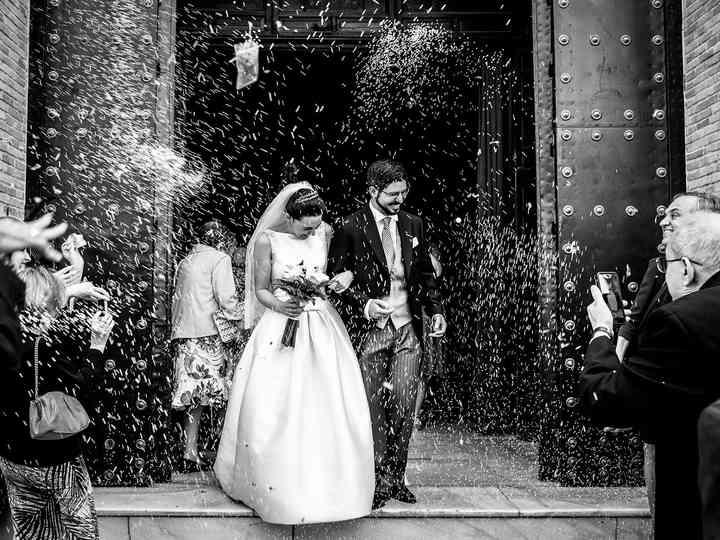 La boda de Paula y Davide