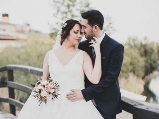 La boda de Nedielka y Saúl