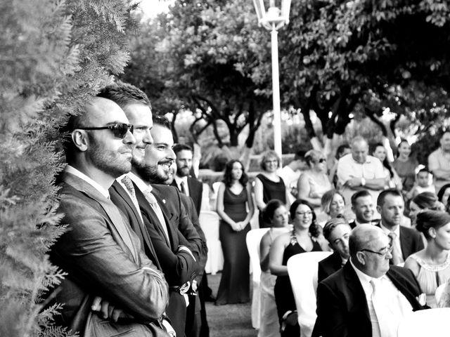 La boda de Juan Antonio y Carolina en La Algaba, Sevilla 17